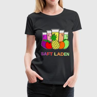 Jester Juice shop - fruits - Women's Premium T-Shirt