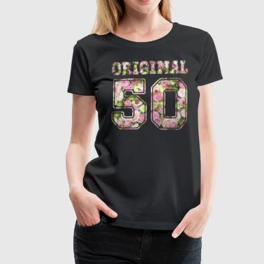 Original 50 - Frauen Premium T-Shirt