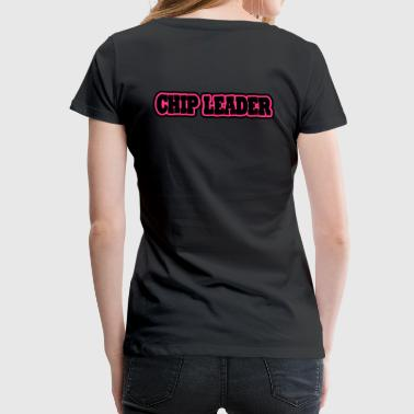 chipleader (2 couleurs modifiables) - T-shirt Premium Femme