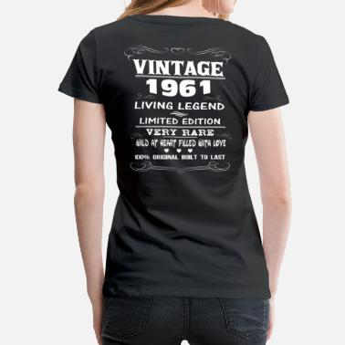 The 1961 VINTAGE 1961 - Women's Premium T-Shirt
