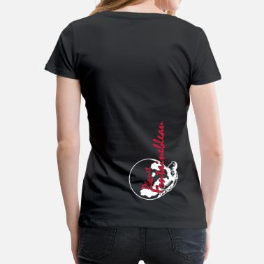Fontainebleau planet black earth - Frauen Premium T-Shirt