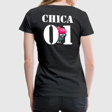 CHICA 01 | Partnershirt - Frauen Premium T-Shirt