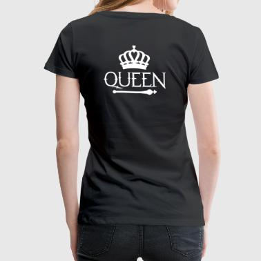 Queen Queen Princess - Vrouwen Premium T-shirt