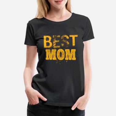 Muttchen Best Mom Mutter Mutti Mama Mami Muttchen Muttertag - Frauen Premium T-Shirt