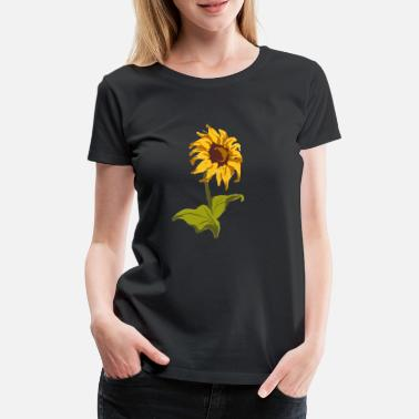 Original Sunflower Classic gift for florists - Women's Premium T-Shirt