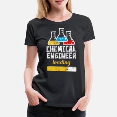 c54d21bea Químico Estudiante de ingeniería química - Camiseta premium mujer