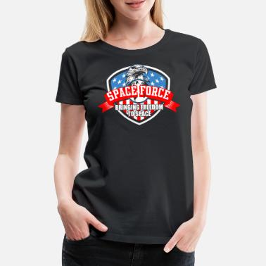 Battle US Space Force | Ny Militär Branch Nyhet Gift - Premium-T-shirt dam