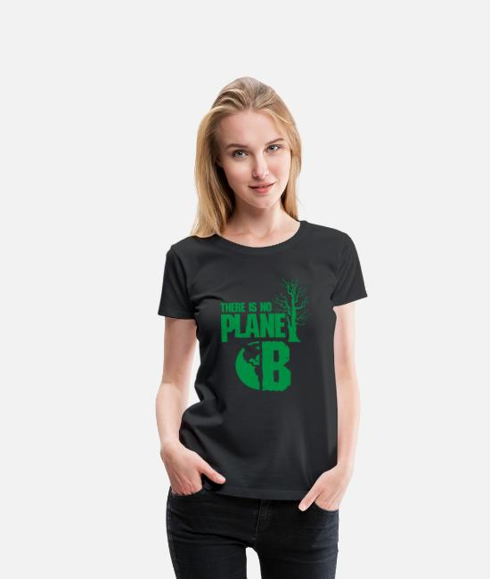 Enviromental T-Shirts - Climate change - Women's Premium T-Shirt black