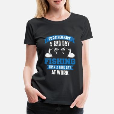 Rute Fishing Shirt - Frauen Premium T-Shirt