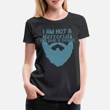 I am not a terrorist - Women's Premium T-Shirt