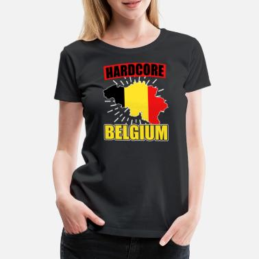 National Colours Belgium nationality national colors - Women's Premium T-Shirt