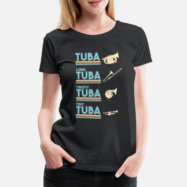 types of tubas 6 - Women's Premium T-Shirt