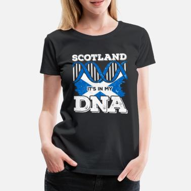 Edinburgh Scotland Scots DNA - Women's Premium T-Shirt