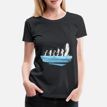 Penguin Penguins penguin penguin family gift - Women's Premium T-Shirt