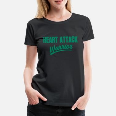 Therapy Heart attack therapy fighter saying funny - Women's Premium T-Shirt