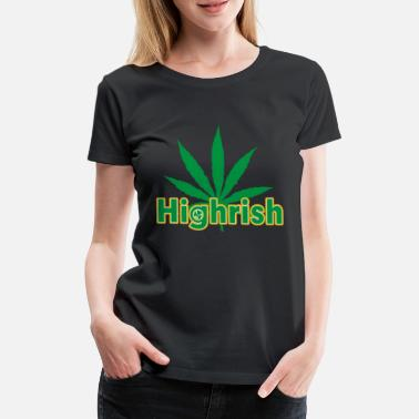 Irishcontest Irish cannabis T - Women's Premium T-Shirt
