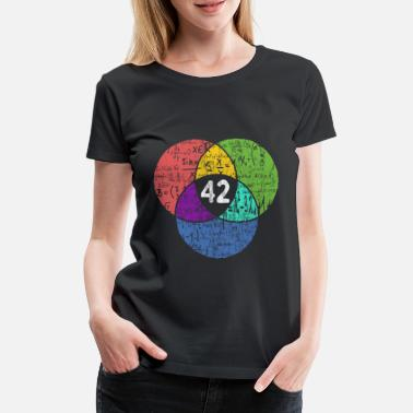 Geek 42 - Nerd Geek - science fiction - Premium T-shirt dame