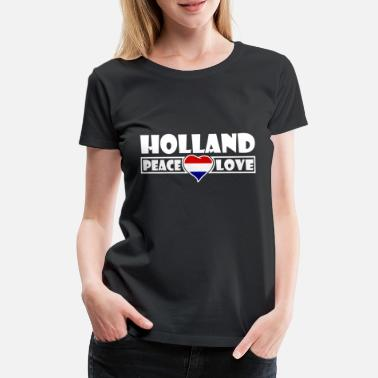 I Love Amsterdam Holland - Frauen Premium T-Shirt