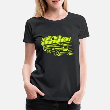 Bestill Commander T skjorter på nett | Spreadshirt
