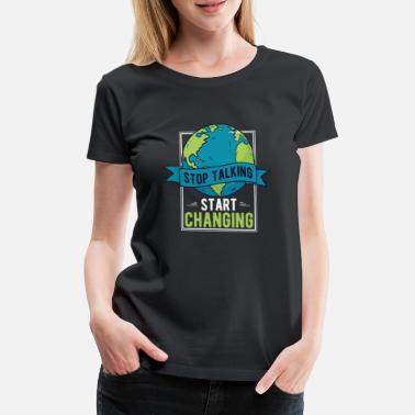 Protection Environment Protection Climate protection Climate Environmental protection - Women's Premium T-Shirt