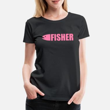 Fish Fishing fishing fishing fishing - Women's Premium T-Shirt