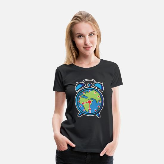 Earth Day T-Shirts - Earth Hour - Save our Planet - Frauen Premium T-Shirt Schwarz