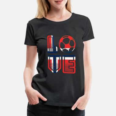 Summer Fairy Tale I Love Norway - Summer Fairy Tale 2018 - Football - Women's Premium T-Shirt