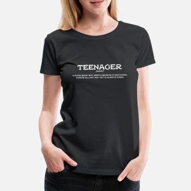 Pubertät Definition Teenager - Frauen Premium T-Shirt