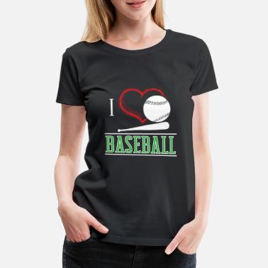 Cool Sports Baseball Sport Cool Gift - Women's Premium T-Shirt