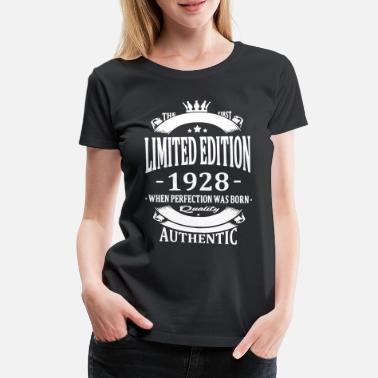Limited Limited Edition 1928 - T-shirt premium Femme