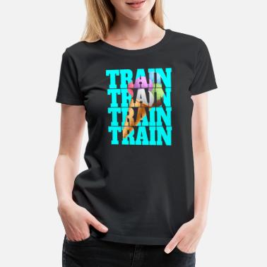 Intensiv Train Eistüte High Intensity Intervall Training - Frauen Premium T-Shirt