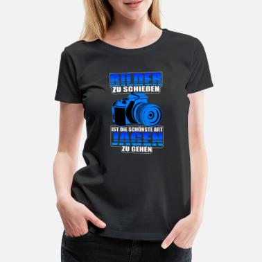 Bilderberg To shoot pictures the most beautiful way to go hunting - Women's Premium T-Shirt