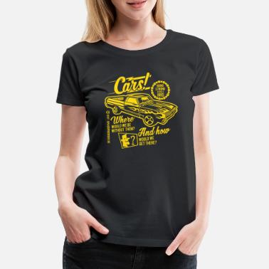 Bikes And Cars Collection Cars - Frauen Premium T-Shirt