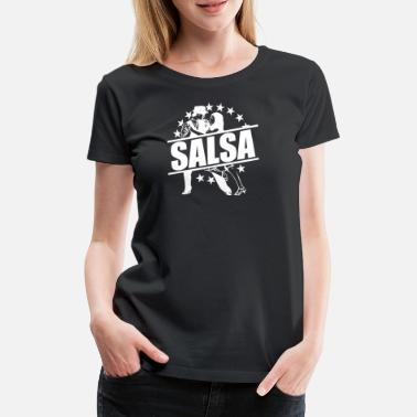 Spanish Salsa Dancing salsa spain spanish dancing couple dancer - Women's Premium T-Shirt