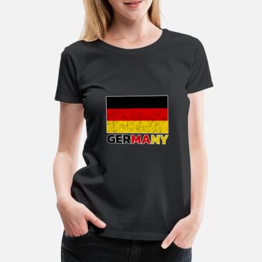Flag Of Germany Germany flag - Women's Premium T-Shirt