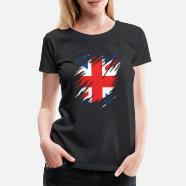 Torn Torn UK - Women's Premium T-Shirt