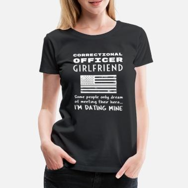 Quotes Correctional Officer Girlfriend Penal Officer - Women's Premium T-Shirt