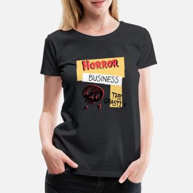 Ghastly Horror Business Halloween - Women's Premium T-Shirt