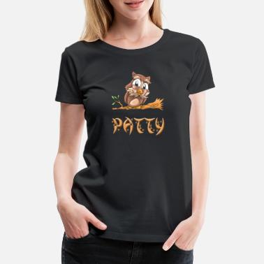 Pattys Ugle Patty - Premium T-shirt dame