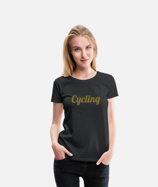 Cycling T-Shirts - Cycling - Women's Premium T-Shirt black