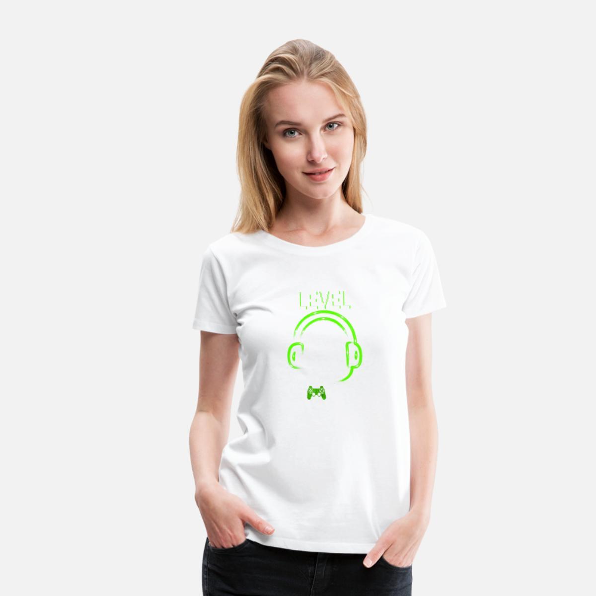 8. Geburtstag Gamer Level 8 Complete' Frauen Premium T Shirt ...