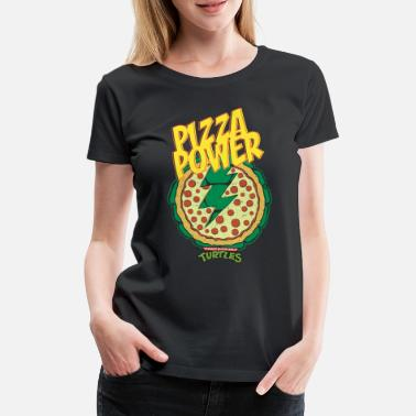Cool TMNT Turtles Pizza Power Shield - Women's Premium T-Shirt