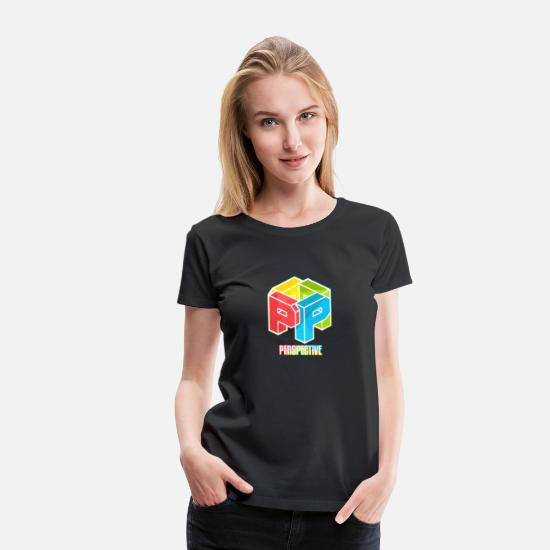 Party T-Shirts - Perspective - Women's Premium T-Shirt black