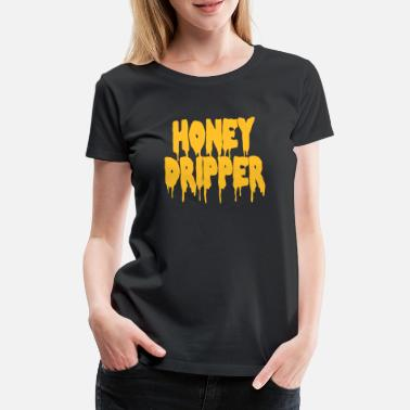 Blacksploitation Honey Dripper - Women's Premium T-Shirt