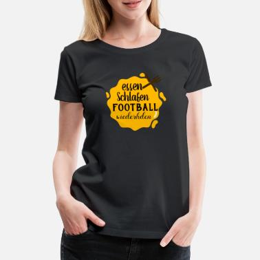 Wide Receiver Sport Shirt • American Football • Geschenk - Frauen Premium T-Shirt