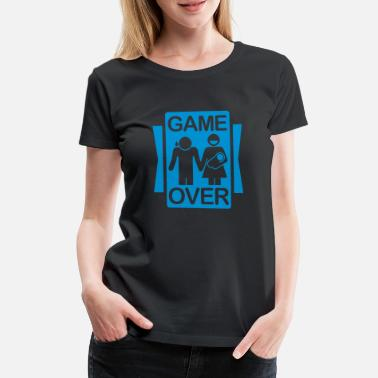 Test game_over_2__f1 - T-shirt premium Femme
