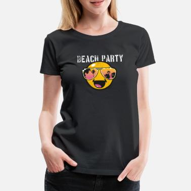 Beachparty SmileyWorld 'Beachparty' teenager t-shirt - Camiseta premium mujer