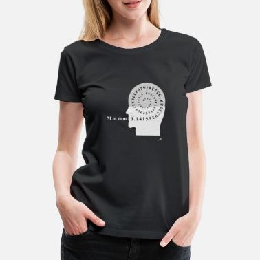 Mmm Pi - Maths Geek - Women's Premium T-Shirt