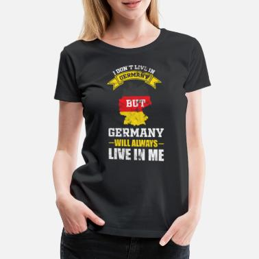 Germany Flag Germany Federal Gift - Women's Premium T-Shirt