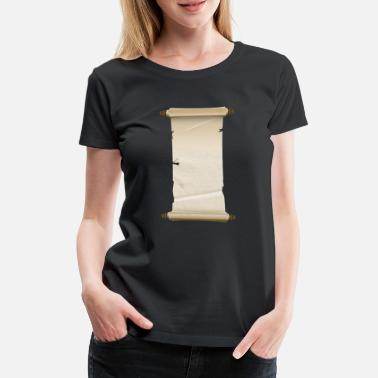 Scroll Scroll - Women's Premium T-Shirt